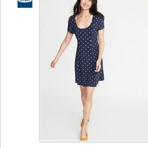 Old navy women's Floral print fit and flare dress